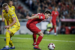 March 22, 2019 - Na - Lisbon, 03/22/2019 - The Portuguese Football Team received their Ukrainian counterpart this afternoon at the Estádio da Luz in Lisbon, in the Group B game, in the qualifying round for the European Oleksandr Zinchenko; Raphael Guerreiro  (Credit Image: © Atlantico Press via ZUMA Wire)