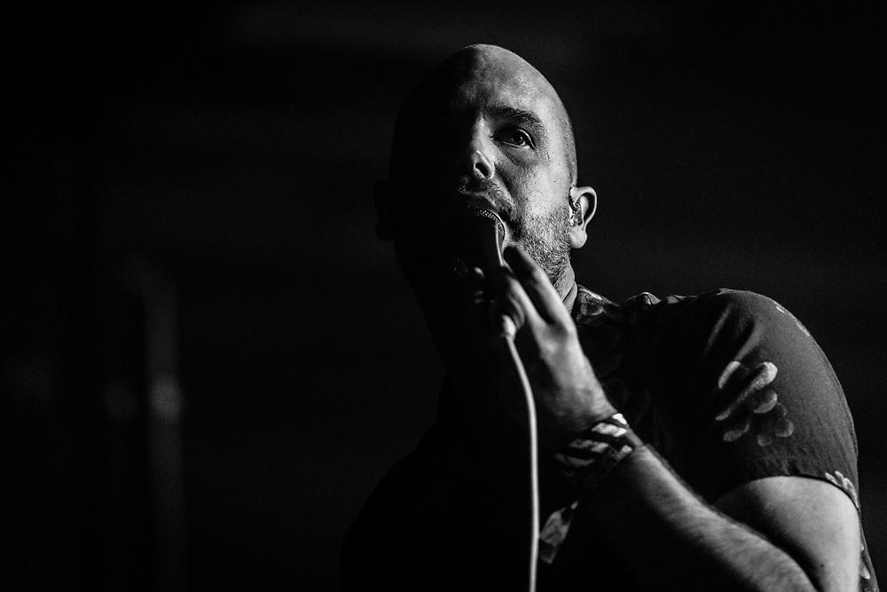 Arnór Dan of Icelandic alternative-rock band Agent Fresco at Iceland Airwaves