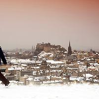 02-02-09 Edinburgh Snow