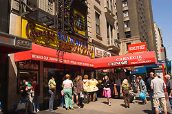 New York City, New York: Food, Carnegie Deli .Photo #: ny295-14963  .Photo copyright Lee Foster, www.fostertravel.com, lee@fostertravel.com, 510-549-2202.