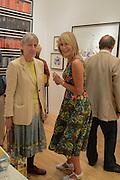 SUSAN LIGHT; REBECCA HOSSACK, 20/21 British Art Fair. Celebrating its 25 Anniversary. The Royal College of Art . Kensington Gore. London. 12 September 2012.