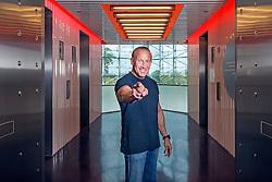 Jordan Zimmerman, CEO of Zimmerman Advertising at his Fort Lauderdale office building.