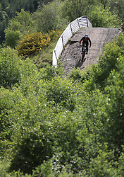 Pierre Charles Georges of Commencal - Lac Blanc during day two of the 2017 UCI Mountain Bike World Cup at Fort William. PRESS ASSOCIATION Photo. Picture date: Sunday June 4, 2017. Photo credit should read: Tim Goode/PA Wire. RESTRICTIONS: Editorial use only, no commercial use without prior permission