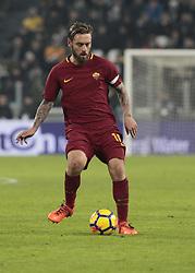 December 23, 2017 - Turin, Italy - Daniele De Rossi during Serie A match between Juventus v Roma, in Turin, on December 23, 2017  (Credit Image: © Loris Roselli/NurPhoto via ZUMA Press)