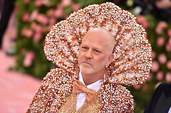 Ryan Murphy attends The 2019 Met Gala Celebrating Camp: Notes On Fashion at The Metropolitan Museum of Art on May 06, 2019 in New York City. Photo by Lionel Hahn/ABACAPRESS.COM