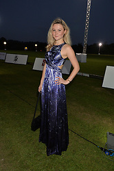 AMBER ATHERTON at the Chovgan Twilight Polo Gala in association with the PNN Group held at Ham Polo Club, Petersham Close, Richmond, Surrey on 10th September 2014.