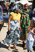Madagascar, Northern Madagascar, Antsiranana Women in traditional dress
