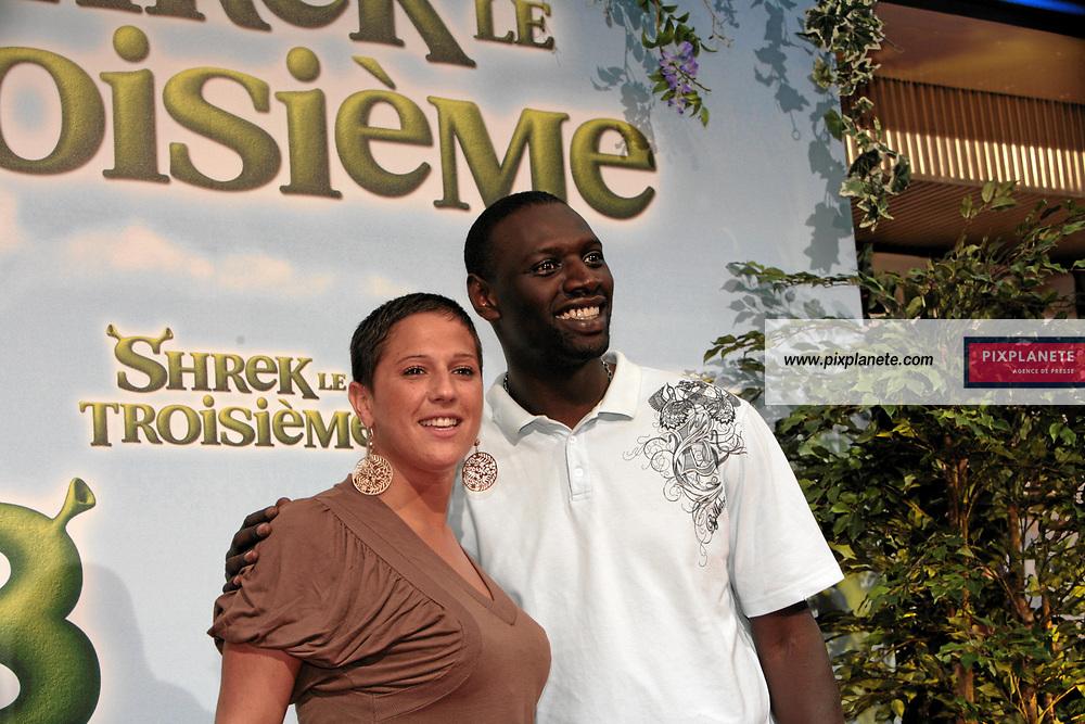 Diam's - Omar Sy - Avant Première à Paris du troisième volet de Shrek - 7/6/2007 - JSB / PixPlanete