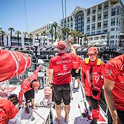 Leg 3, Cape Town to Melbourne, day xx,  on board MAPFRE. Photo by Jen Edney/Volvo Ocean Race. 10 December, 2017.