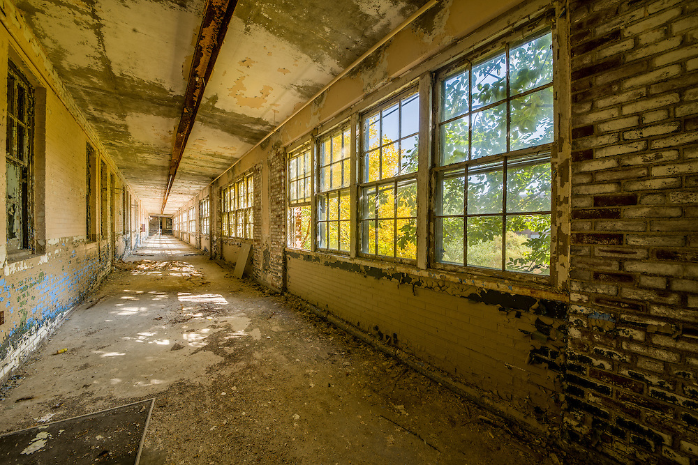 "The Abandoned ""White Hall"" at Chanute Air Force base in Rantoul, IL."