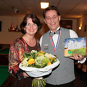 NLD/Huizen/20100126 - Huldiging Frans Elbers Nederlands Kampioen Biljart 4e klas Libre