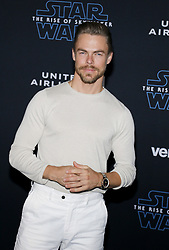 Derek Hough at the World premiere of Disney's 'Star Wars: The Rise Of Skywalker' held at the Dolby Theatre in Hollywood, USA on December 16, 2019.