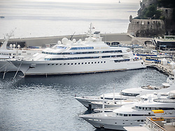 September 24, 2016 - Monaco, Monaco - Saudi Arabian businessman, Nasser Al-Rashid's.Superyacht 'Lady Moura'' (105m) pictured in Port Hercules for the 26th Monaco Yacht Show with some 125 of the most desirable superyachts from around the world on display between 28 September and 1 October. The Monaco Yacht Show is held in Port Hercules, and is Europe's biggest in-water display of superyachts. (Credit Image: © Hugh Peterswald/Pacific Press via ZUMA Wire)