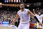 DESCRIZIONE : Berlino Berlin Eurobasket 2015 Group B Germany Germania - Italia Italy<br /> GIOCATORE : Alessandro Gentile<br /> CATEGORIA : Ritratto Esultanza Postgame<br /> SQUADRA : Italia Italy<br /> EVENTO : Eurobasket 2015 Group B<br /> GARA : Germany Italy - Germania Italia<br /> DATA : 09/09/2015<br /> SPORT : Pallacanestro<br /> AUTORE : Agenzia Ciamillo-Castoria/GiulioCiamillo