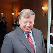 Huwelijk Berdien Stenberg en Pieter Kleve ontvangen door burgemeester Hans Ouwerkerk