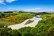 The Kakanui River, Kakanui, Otago, South Island, New Zealand