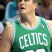 Boston Celtics's Darko Milicic during their NBA Europe Live 2012 The four-game tour tips match Fenerbahce Ulker between Boston Celtics at Fenerbahce Ulker Sports Arena in Istanbul, Turkey, Friday, October 05, 2012. Photo by TURKPIX
