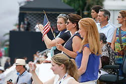 Supporters USA<br /> Team consolation competition<br /> Furusiyya FEI Nations Cup Jumping Final<br /> CSIO Barcelona 2013<br /> © Dirk Caremans