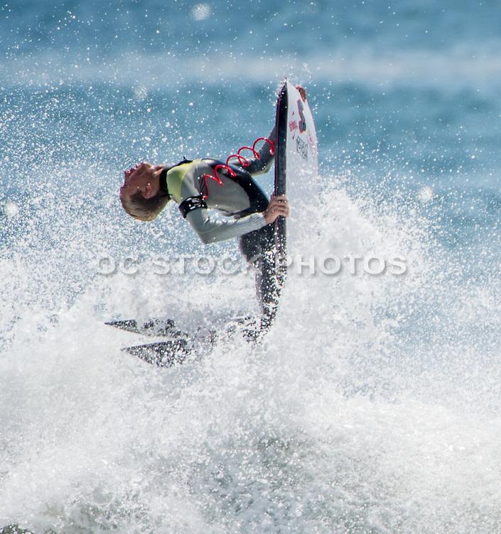 Boogie Boarder Doing a Flip
