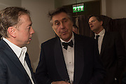 GEORDIE GREIG; SIR BRYAN FERRY, Nicky Haslam hosts dinner at  Gigi's for Leslie Caron. 22 Woodstock St. London. W1C 2AR. 25 March 2015