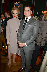 PRINCESS MICHAEL OF KENT and CRAIG REYNOLDS CEO of Kent & Curwen at the Kent and Curwen London Flagship Launch, Saville Row, London on 6th November 2013.