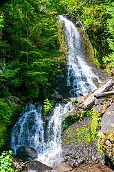 Narada Falls, Mt. Rainier National Park, Washington, US