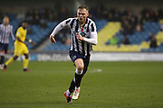 Millwall striker Aiden O'Brien (22) running during the EFL Sky Bet League 1 match between Millwall and Bristol Rovers at The Den, London, England on 12 November 2016. Photo by Matthew Redman.