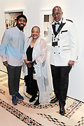 New York, NY- May 22: (L-R) Photographer Devine Allen, Author/Arts Educator Dr. Deb Willis and Documentary Photographer Jamel Shabazz attend the Gordon Parks Foundation Awards Dinner & Auctionn: Celebrating the Arts & Humanitarianism held at Cipriani 42nd Street on May 22, 2018 in New York City.   (Photo by Terrence Jennings/terrencejennings.com)