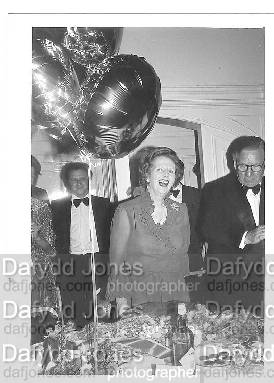 Margaret Thatcher© Copyright Photograph by Dafydd Jones 66 Stockwell Park Rd. London SW9 0DA Tel 020 7733 0108 www.dafjones.com
