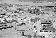 "ackroyd-05346-7. ""American Sheet Metal Warehouse"" July 12, 1954 (4033 NW Yeon Ave., next to Texaco tank farm)"