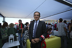 June 25, 2018 - Na - Lisbon, 06/25/2018 - Report on the Portugal Arena, at the Terreiro do Paço in Lisbon, during the transmission of the game Portugal vs Iran, to be counted towards the 2018 World Cup group stage Edmundo Martinho, Provider of Santa Casa da Misericórdia  (Credit Image: © Atlantico Press via ZUMA Wire)