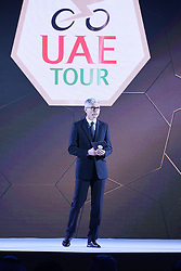 February 23, 2019 - Abu Dhabi - Foto LaPresse - Fabio Ferrari.23 Febbraio 2019 Abu Dhabi (Emirati Arabi Uniti).Sport Ciclismo.UAE Tour 2019 - Presentazione squadre.Nella foto: durante la presentazione..Photo LaPresse - Fabio Ferrari.February 23, 2019 Abu Dhabi (United Arab Emirates) .Sport Cycling.UAE Tour 2019 - Team presentation.In the pic: during the presentation (Credit Image: © Fabio Ferrari/Lapresse via ZUMA Press)