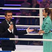 NLD/Amsterdam/20181031 - Boxingstars 2018, 1e aflevering, Ruben Nicolai en olcay Gulsen