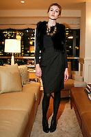 Jenni B. wearing Jenni Kayne at the Jenni Kayne Presentation of Fall/Winter '09 Collection at 500 Park Avenue, New York, NY on February 11, 2009