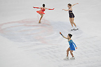 warm up Multiexposure <br /> Ladies Free Skating  <br /> Milano 23/03/2018 Assago Forum <br /> Milano 2018 - ISU World Figure Skating Championships <br /> Foto Andrea Staccioli / Insidefoto