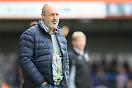 Keith Hill during the EFL Sky Bet League 1 match between Rochdale and Gillingham at Spotland, Rochdale, England on 23 September 2017. Photo by Daniel Youngs.