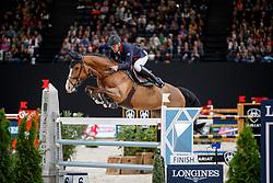 BOST Roger Yves (FRA), Sangria du Coty<br /> Paris - FEI World Cup Finals 2018<br /> Longines FEI World Cup Jumping Final III<br /> www.sportfotos-lafrentz.de/Stefan Lafrentz<br /> 15. April 2018