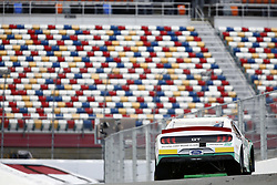 September 27, 2018 - Concord, North Carolina, United States of America - Austin Cindric (22) races through the turns during practice for the Drive for the Cure 200 at Charlotte Motor Speedway in Concord, North Carolina. (Credit Image: © Chris Owens Asp Inc/ASP via ZUMA Wire)