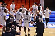 Krubally Ousman, Harrison D'Angelo,<br /> Happycasa Brindisi - Germani Brescia<br /> LegaBasket SerieA  2020-2021<br /> Brindisi 22/11/2020<br /> Foto Michele Longo// Camillo-Castoria