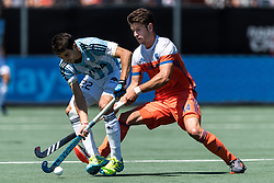 (L-R) sr22, Robbert Kemperman of The Netherlands during the Champions Trophy finale between the Netherlands and Argentina on the fields of BH&BC Breda on Juli 1, 2018 in Breda, the Netherlands.
