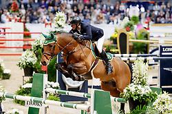 Larsson Jörgen, SWE, Agathon S<br /> Gothenburg Horse Show FEI World Cups 2017<br /> © Hippo Foto - Stefan Lafrentz<br /> 26/02/17