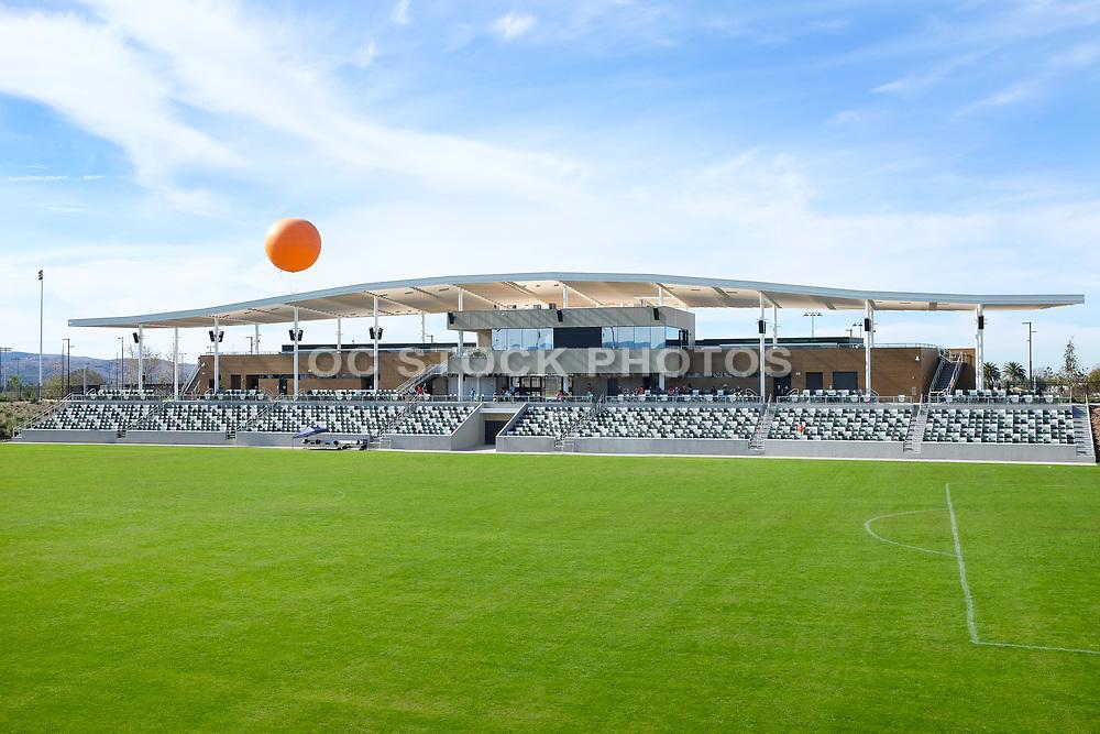 Orange County Great Park Soccer Stadium Grandstand Seating Area