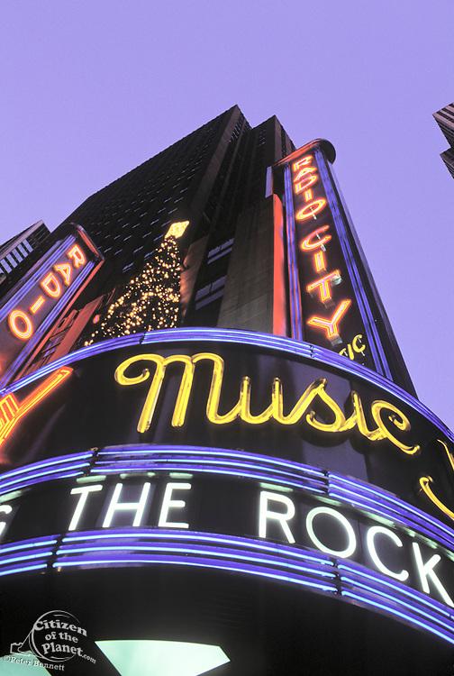 Christmas, Radio City Music Hall, Manhattan, New York