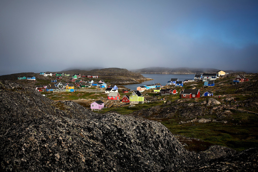 in Itilleq, Greenland, July 28, 2015. Photograph by Todd Korol for The Toronto Star