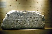 Latin inscription (Roman)