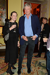 RITA KONIG and the MARQUESS OF WORCESTER at the Tatler Best of British party in association with Jaegar held at The Ritz, Piccadilly, London on 28th April 2015.
