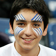 Efes Pilsen's supporters during their Turkish Airlines Euroleague Basketball Top 16 Group G Game 6 match Efes Pilsen between Partizan at Sinan Erdem Arena in Istanbul, Turkey, Thursday, March 03, 2011. Photo by TURKPIX