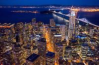 Downtown San Francisco & Bay Bridge