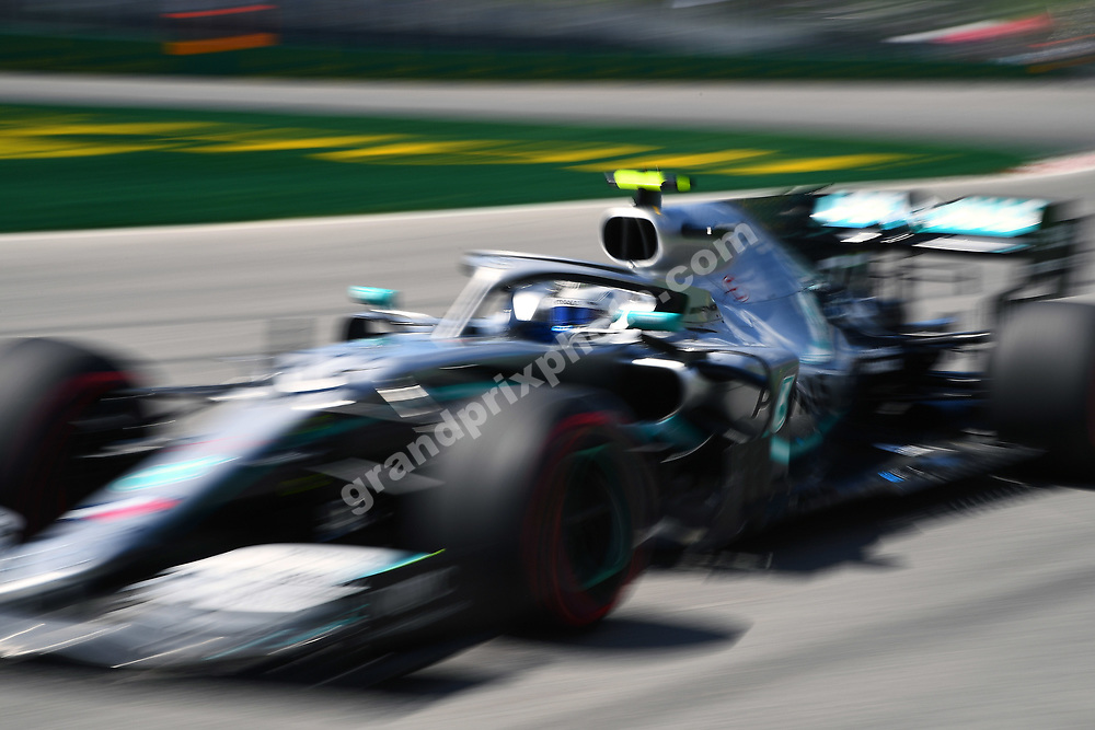 Valtteri Bottas (Mercedes) during practice for the 2019 Canadian Grand Prix in Montreal. Photo: Grand Prix Photo