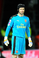 Petr Cech (33) of Arsenal during the Premier League match between Bournemouth and Arsenal at the Vitality Stadium, Bournemouth, England on 3 January 2017. Photo by Graham Hunt.